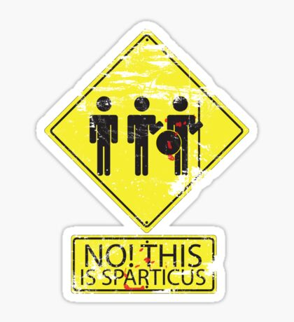 No! This is Sparticus Sticker