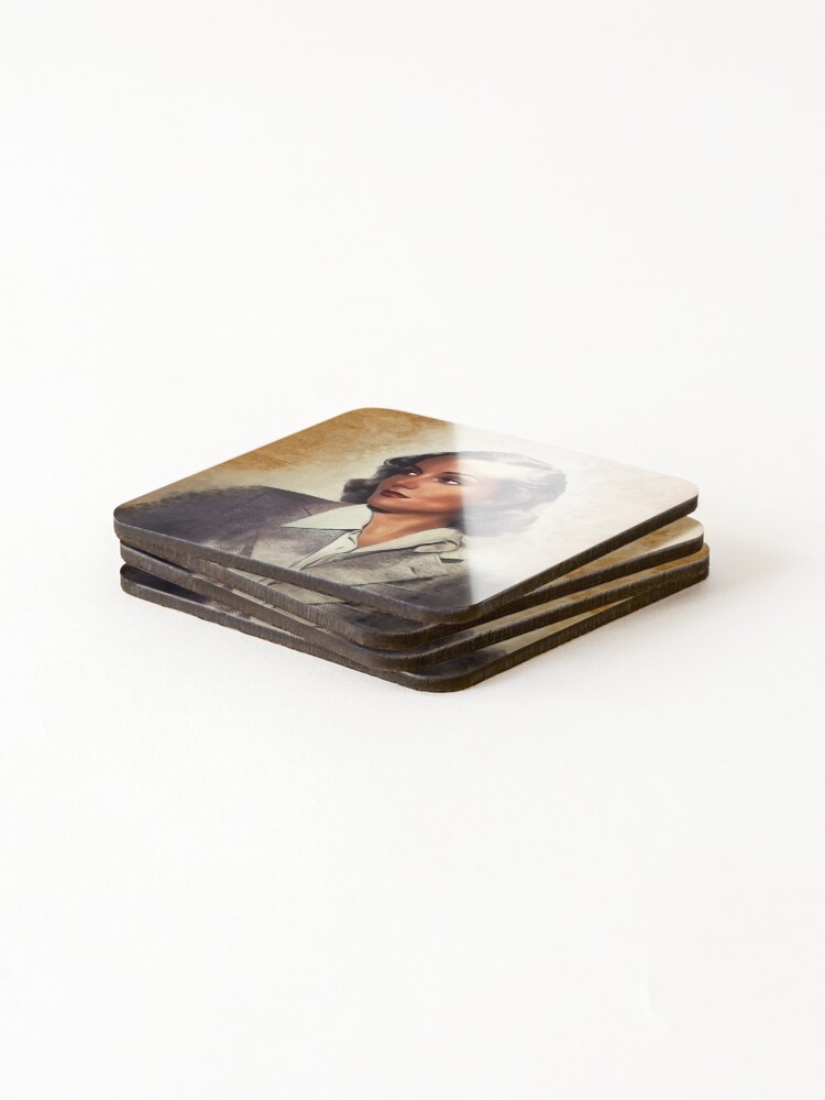 Alternate view of Carole Lombard, Vintage Actress Coasters (Set of 4)