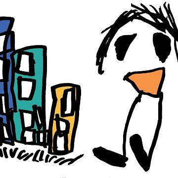City Boy by kiinderpanzer