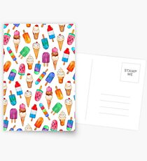 Summer Pops and Ice Cream Dreams Postcards