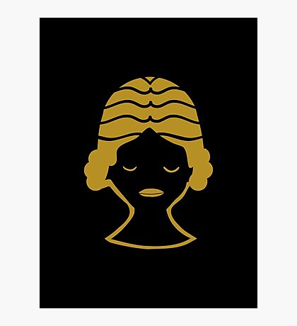 Virgo - Zodiac Symbols Photographic Print