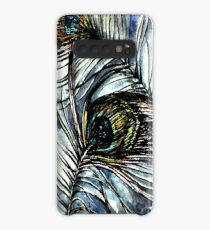 Peacock Abstract Case/Skin for Samsung Galaxy