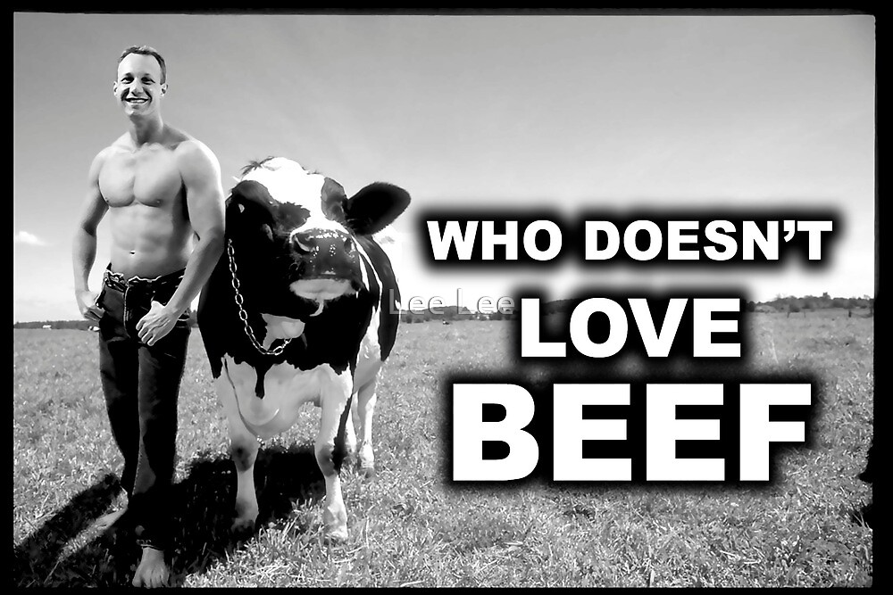 Who doesn't like beef by Lee Lee