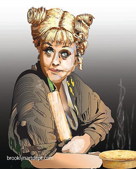 Mrs. Lovett by shmenkie