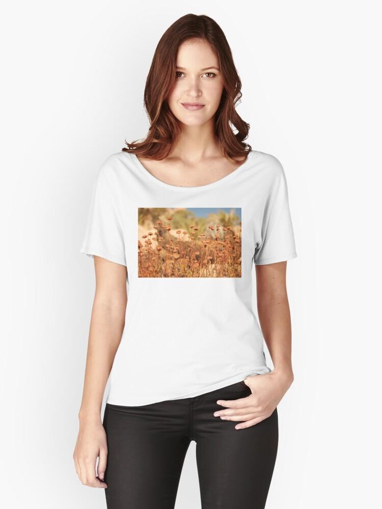 sunbathing - joshua tree Women's Relaxed Fit T-Shirt Front