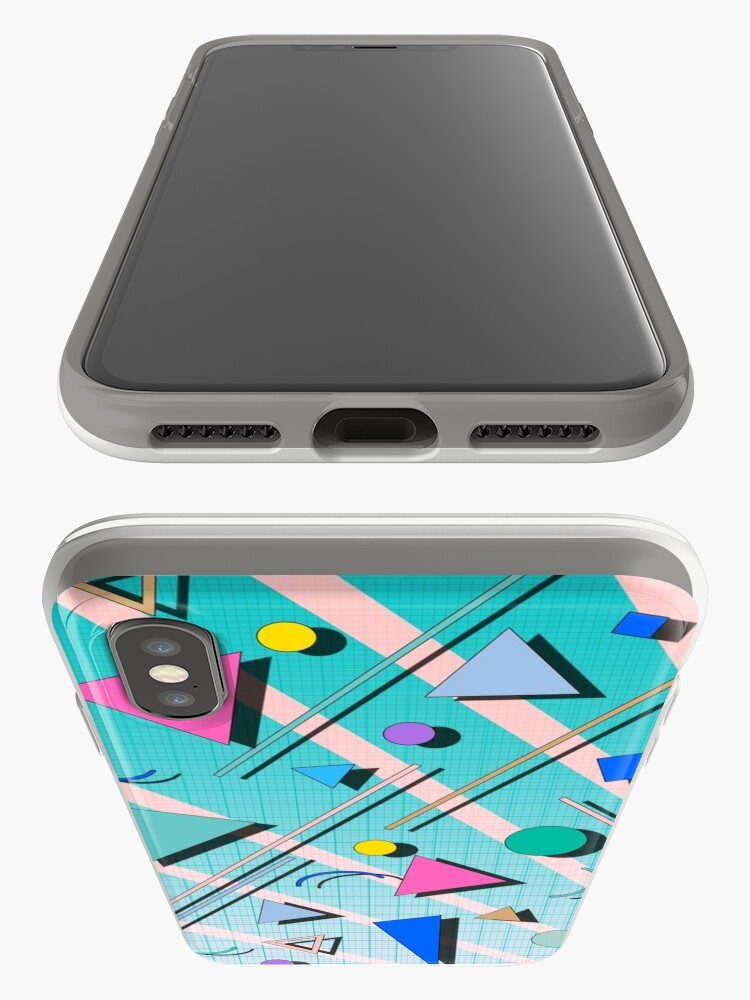 Alternate view of 80s pop retro pattern 4 iPhone Cases & Covers