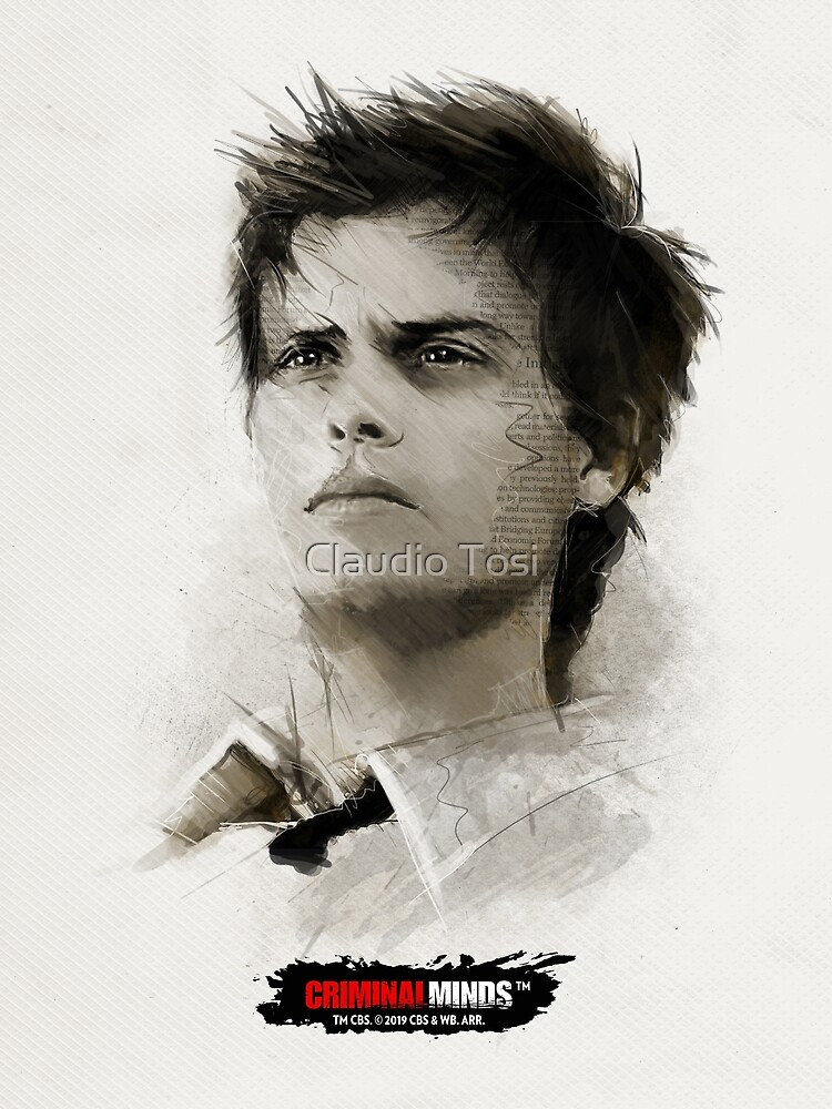 Dr. Spencer Reid | Criminal Minds by Claudio Tosi