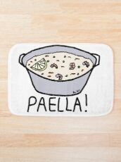 PAELLA! Bath Mat