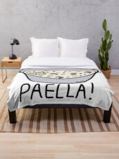 PAELLA! Throw Blanket