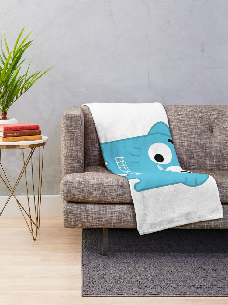 Alternate view of The Amazing World of Gumball™ - Gumball Throw Blanket