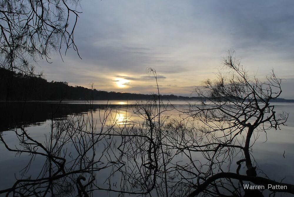 Sunrise on Myall Lakes by Warren  Patten