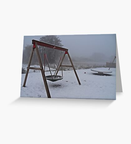 the coldest winter #1 Greeting Card