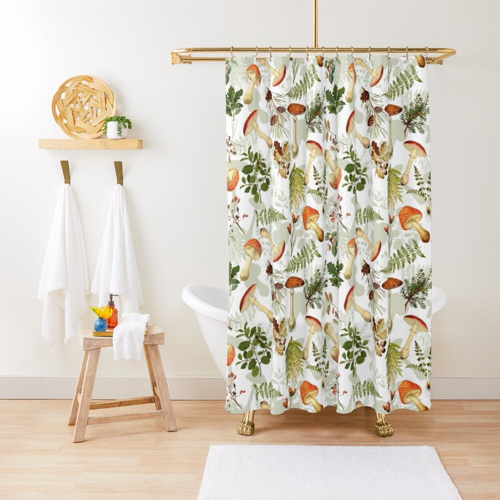 Thanksgiving Harvest  - Don't eat them Shower Curtain