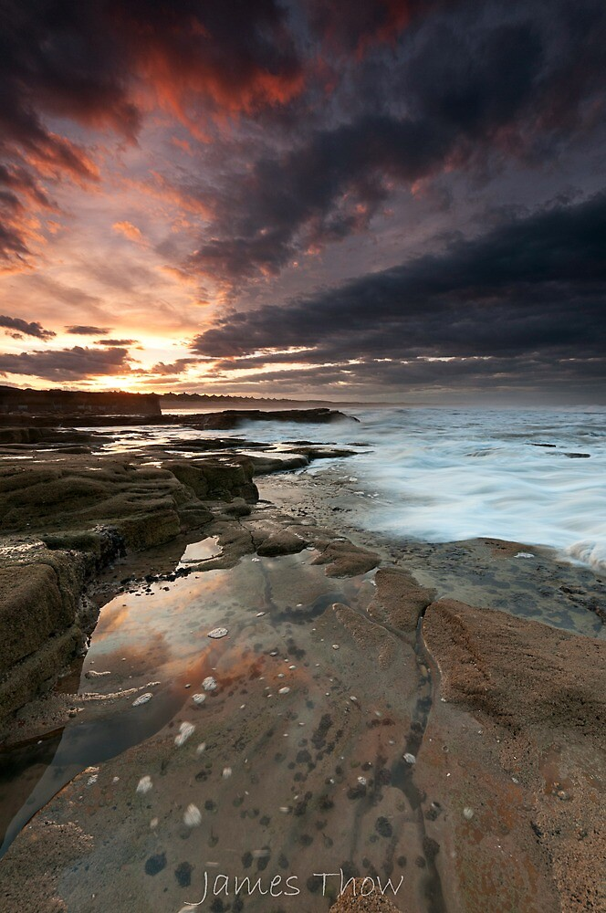 Sluice sunset by james  thow