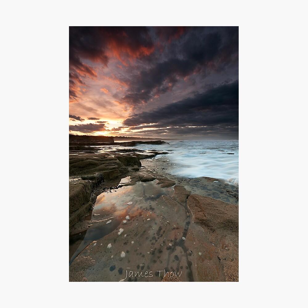 Sluice sunset Photographic Print