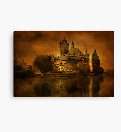 Stratford....on -Avon-Shakespeares....... Canvas Print