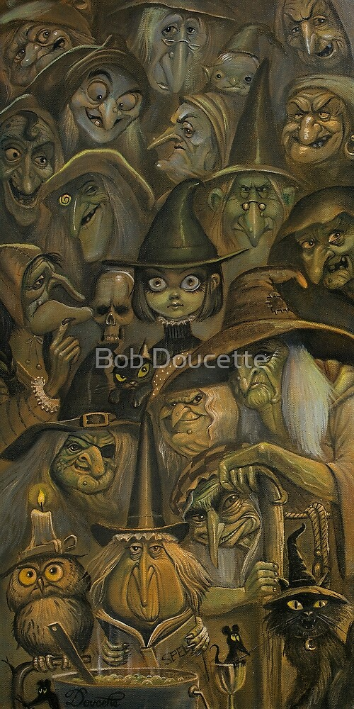 WHICH WITCH IS WHICH by Bob Doucette