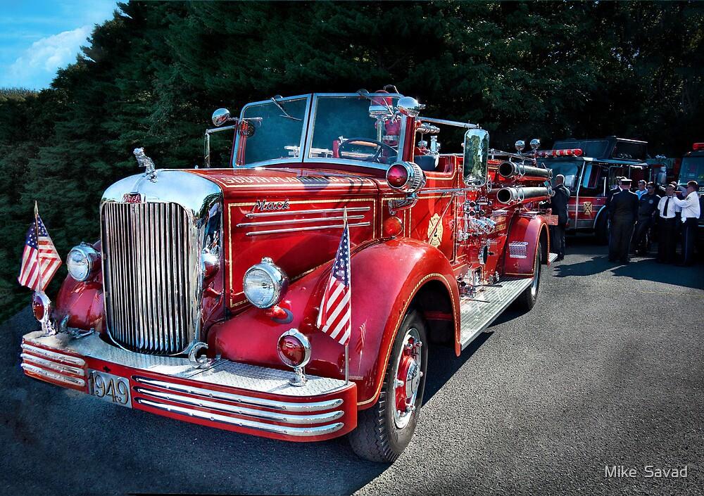 Fireman - 1949 and it still runs  by Mike  Savad