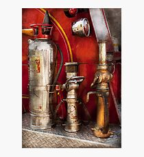 Fireman - Fighting Fires  Photographic Print