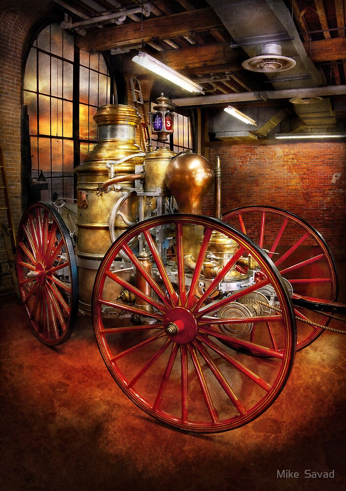 Fireman - One day, a long time ago  by Michael Savad