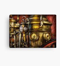 Fireman - The Steam Boiler  Canvas Print