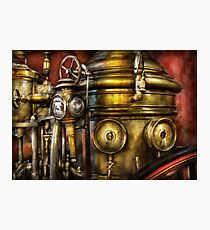 Fireman - The Steam Boiler  Photographic Print