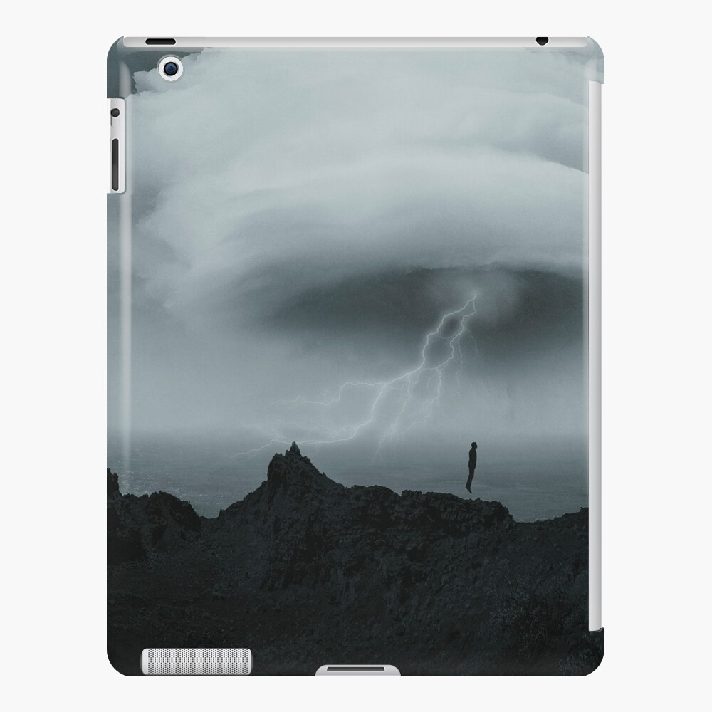 hold your breath iPad Case & Skin