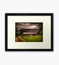 Boat - The construction of Noah's Ark Framed Print
