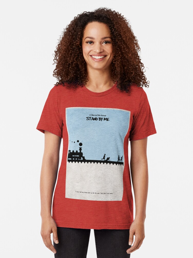 Vista alternativa de Camiseta de tejido mixto Quedate junto a mi