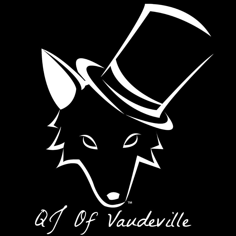 "The QJ Of Vaudeville ""Coyote"" Black and White by QJofVaudeville"