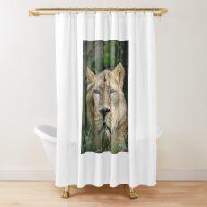 Proud Lioness Shower Curtain