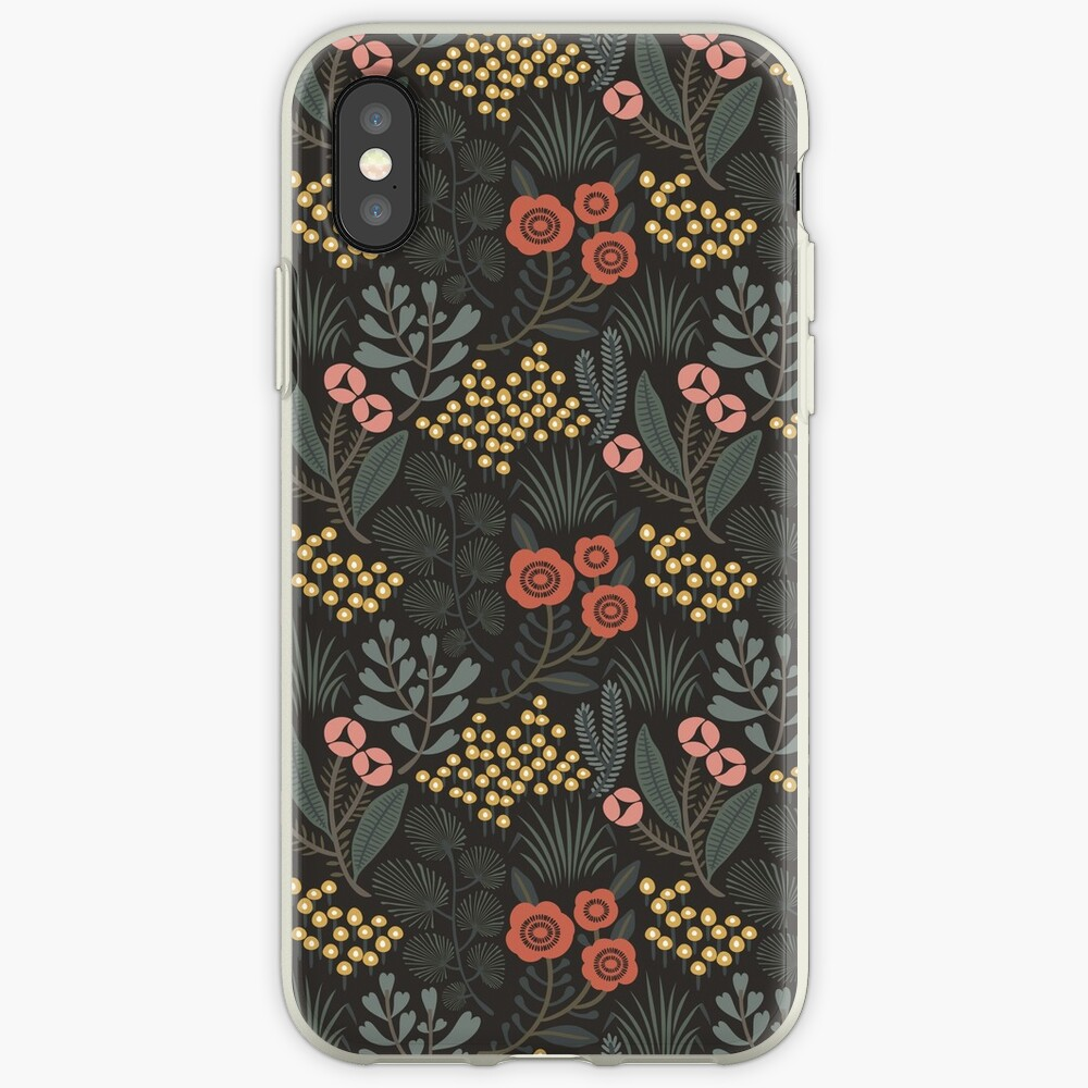Night Garden iPhone Cases & Covers
