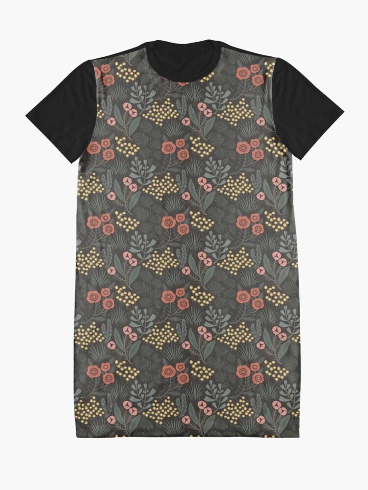 Alternate view of Night Garden Graphic T-Shirt Dress