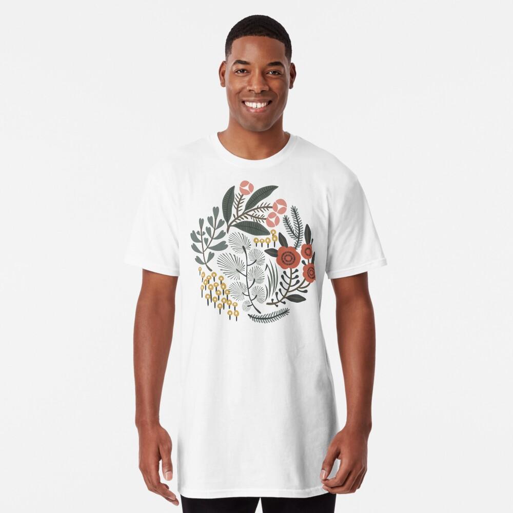 Night Garden Long T-Shirt