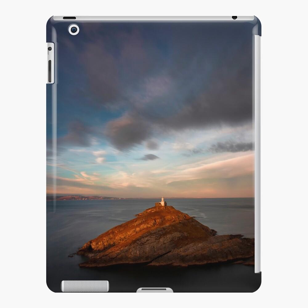 Sunlight on Mumbles Lighthouse iPad Case & Skin