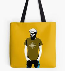 Hipster Bin Laden Tote Bag