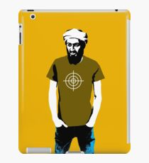 Hipster Bin Laden iPad Case/Skin