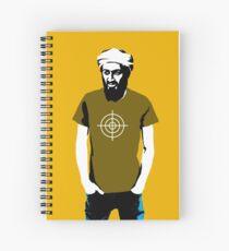 Hipster Bin Laden Spiral Notebook