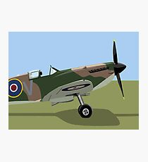 Spitfire WW2 Fighter Photographic Print