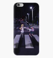 Monogatari – Mayoi and Shinobu crosswalk iPhone Case