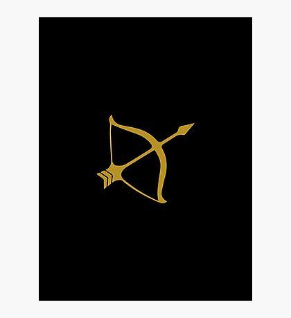Sagittarius - Zodiac Symbols Photographic Print