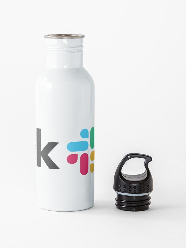 Alternate view of Slack new logo Water Bottle