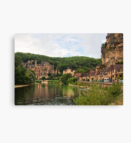 Les Gabares  The Dorgdogne Canvas Print
