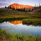 Upper Slide Lake by Alex Burke