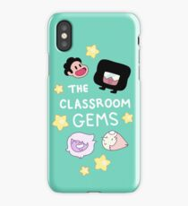 The Classroom Gems! // Steven Universe Crystal Gems Chibi iPhone Case/Skin