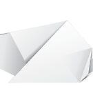 Weißbuch-Origami-Ratte von AnnArtshock