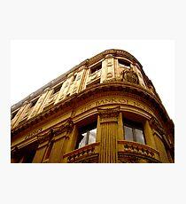 The Bank of Nova Scotia (La Habana) Photographic Print