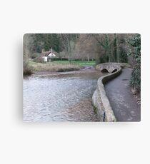 The Packhorse Bridge, Dunster Canvas Print