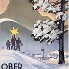 Oberammergau a sunny ski paradise by edsimoneit