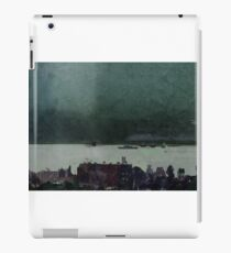 town by the water iPad Case/Skin